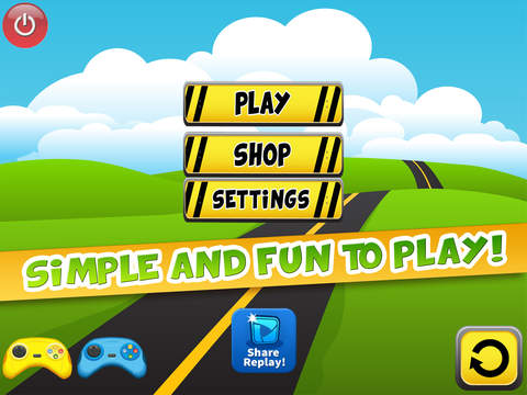 A Tiny Toy Cars Epic Hill Climb Hot Heroes Racing Game For Kids FREE screenshot 7