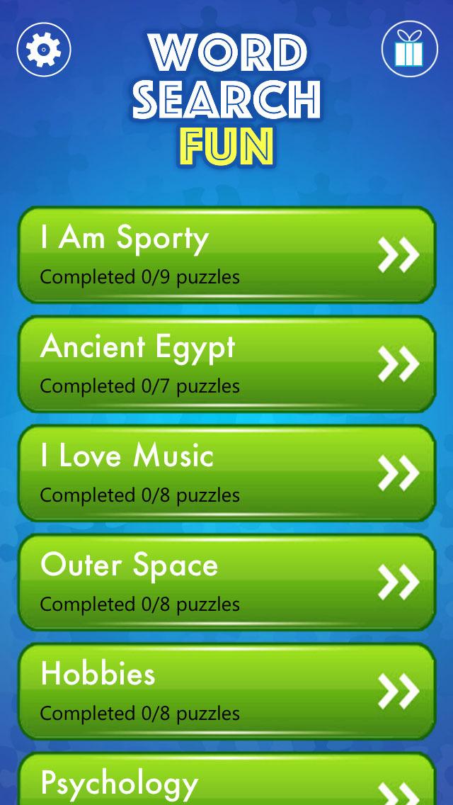Word Search Fun - Free Word Puzzle Game screenshot 3