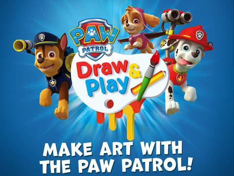 PAW Patrol Draw & Play HD screenshot 1