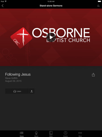 Osborne Baptist Church screenshot 5