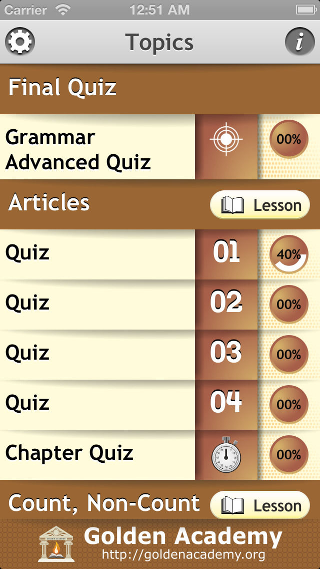 Grammar Expert : English Grammar Advanced screenshot 2
