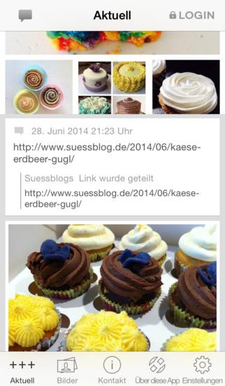 Süßblog screenshot 1
