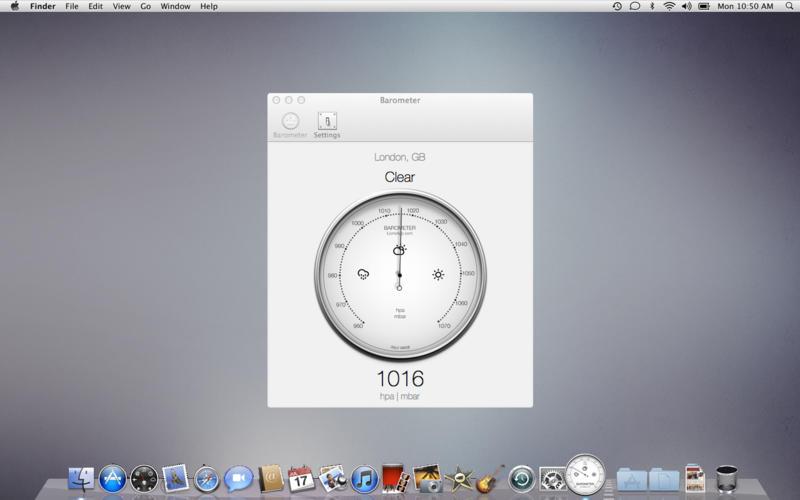 Barometer Atmospheric pressure screenshot 1