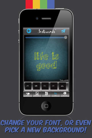 InstaWords Free - Add Text Over Your Photos or Mak - náhled