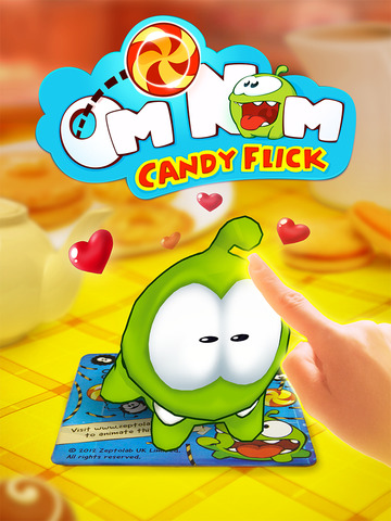 Om Nom: Candy Flick screenshot 8