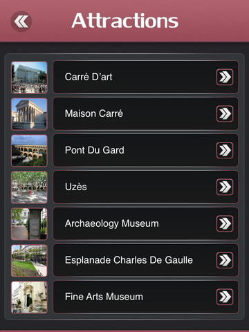 Nimes City Offline Travel Guide screenshot 8