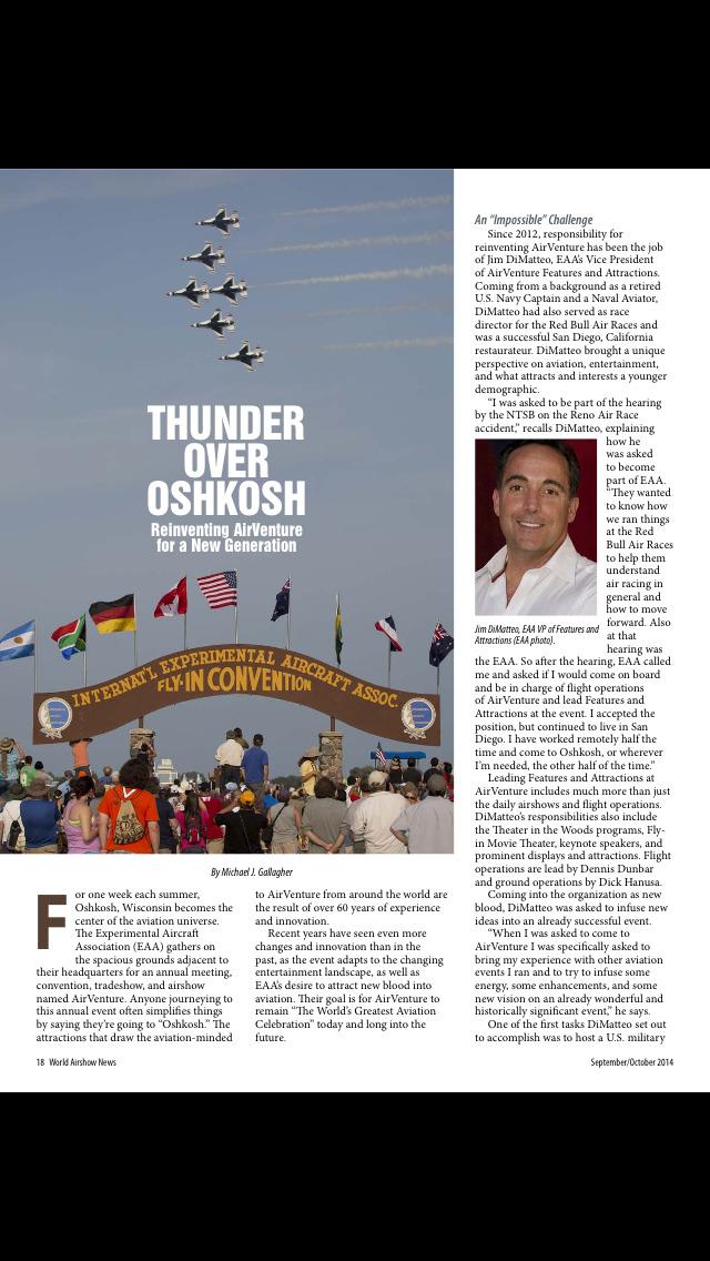 World Airshow News Magazine screenshot 4