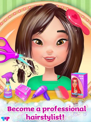 Crazy Hair Salon Makeover screenshot 10