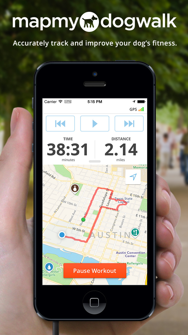 Map My Dog Walk - GPS Dog Walking Tracker | Apps | 148Apps Map My Walk App on animation app, mobile app, google app, my google maps, events app, education app, goanimate app,