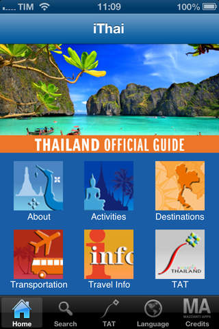 iThai - Thailand Official Guide - náhled