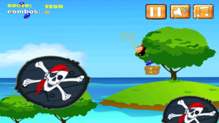A Pirate Jumping Diamond Chase screenshot 2