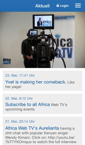 Africa Web TV screenshot 1
