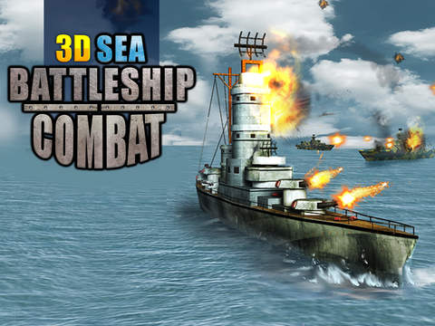 Sea Battleship Combat 3D screenshot 10