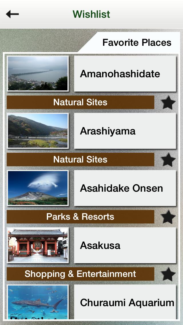 Japan Tourisum : Top 100 Places in Japan screenshot #4