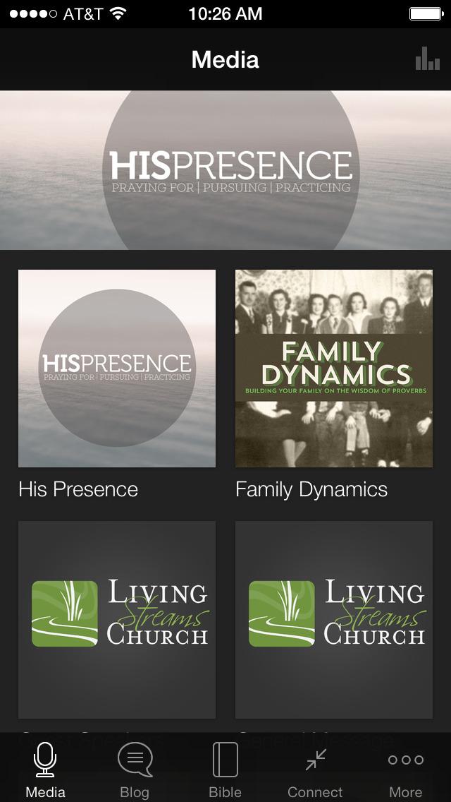 Living Streams Church screenshot 1