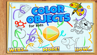 Coloring Objects For Kids FREE screenshot 1
