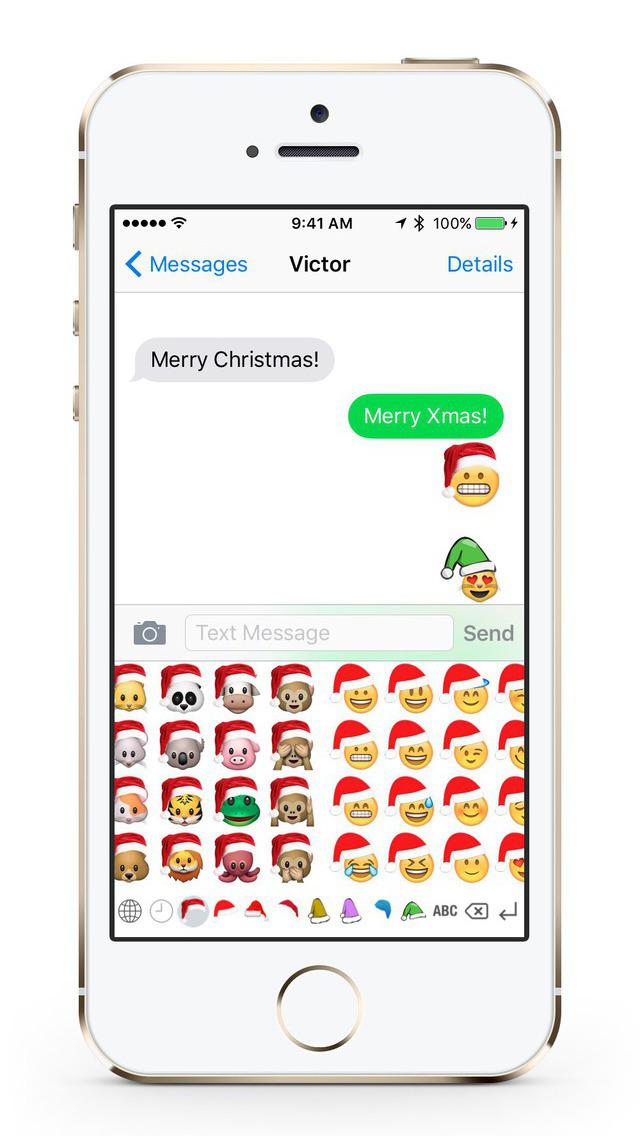 Christmas Emoji Keyboard screenshot 2