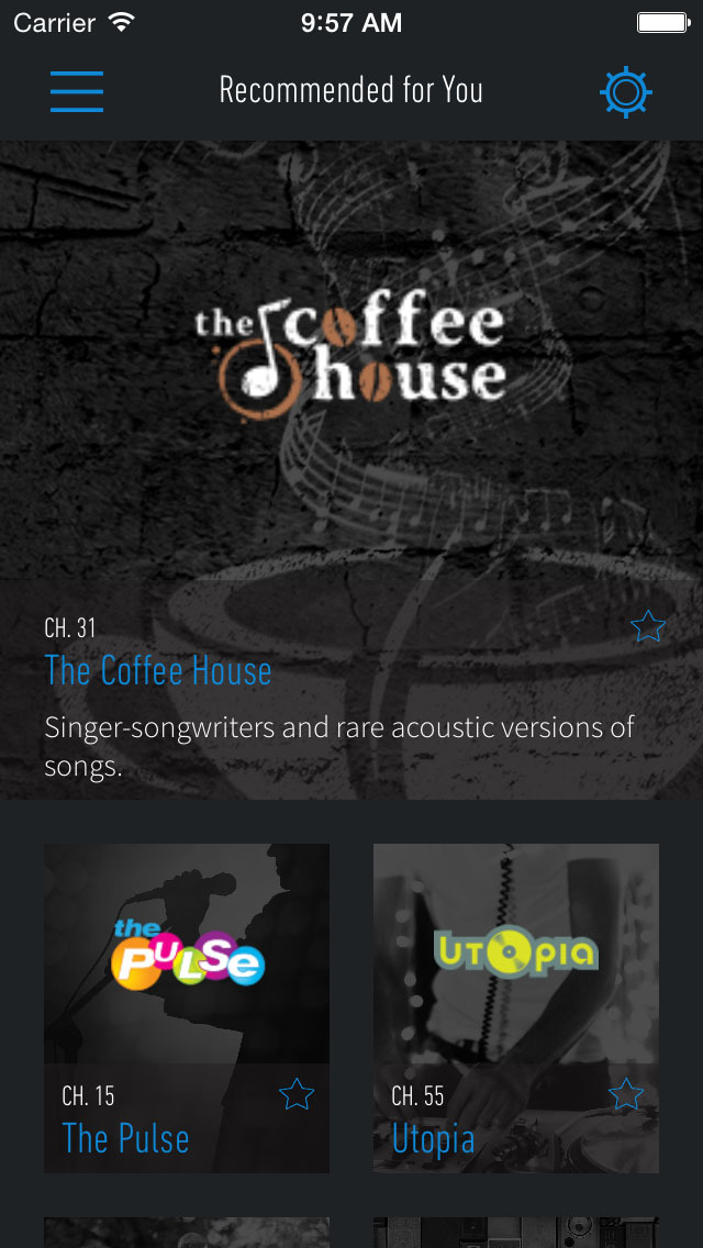SiriusXM Hello screenshot 1
