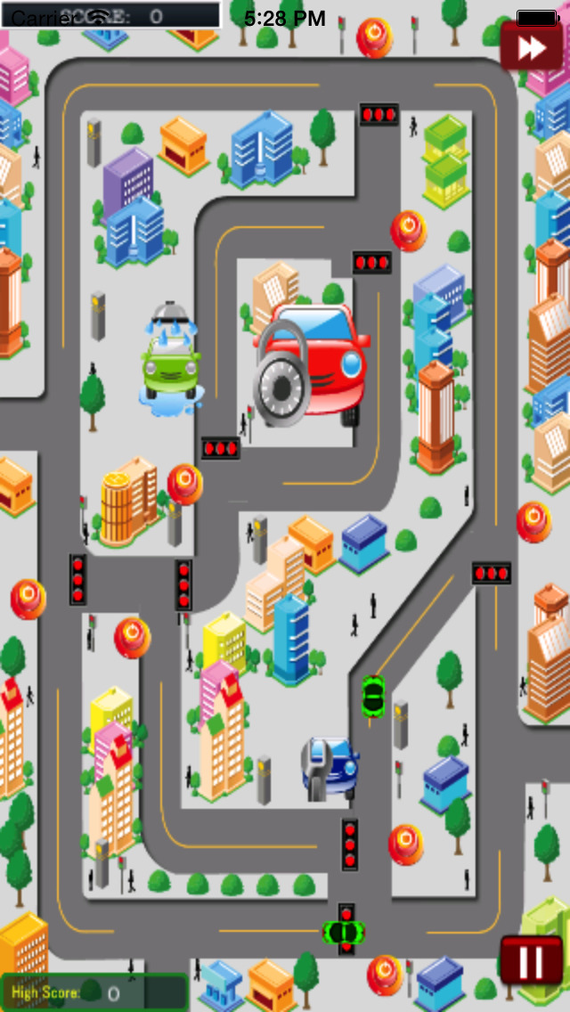 City Traffic Cars HD screenshot 1