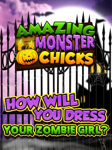 A Monster Chickz Spooky Dress-Up Make-Over - Free Salon Games for Girls screenshot 8