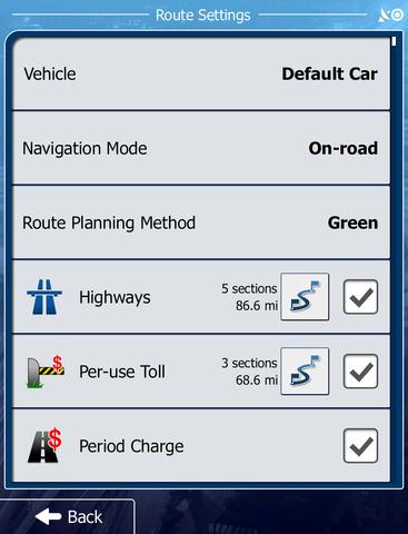 North America - iGO primo app screenshot 6
