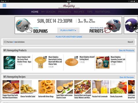 NFL Homegating screenshot 6