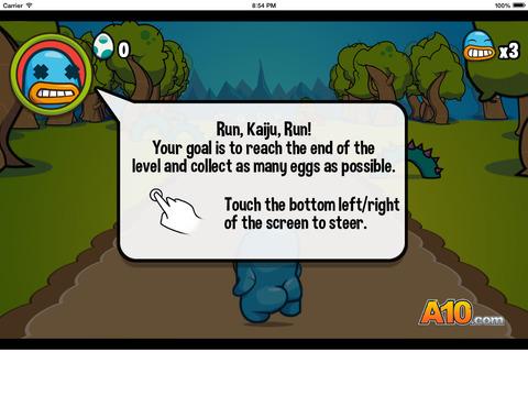 Run Kaiju Run screenshot 5
