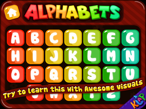 WORDZ CLUB Alphabets HD screenshot 1