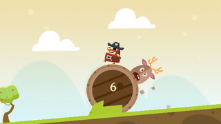 Captain Pirate a Roller Adventure screenshot 2