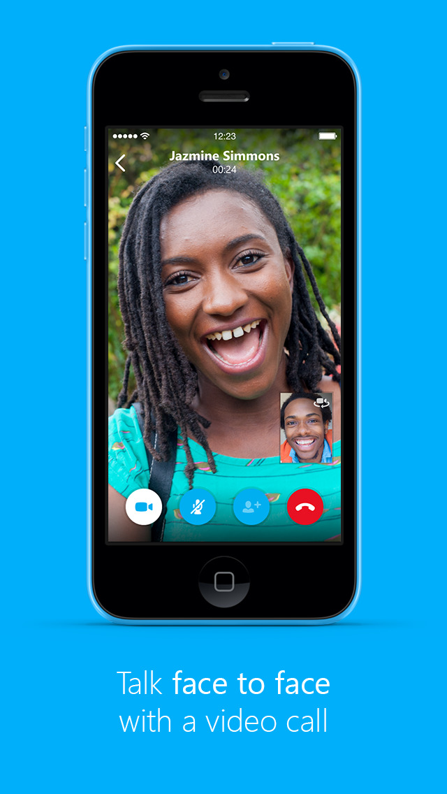 Skype for iPhone screenshot #2