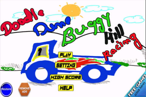 ` Doodle Dune Buggy Hill Race-r - The World Silent - náhled
