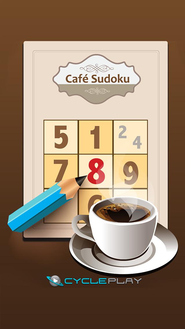 Café Sudoku screenshot 1