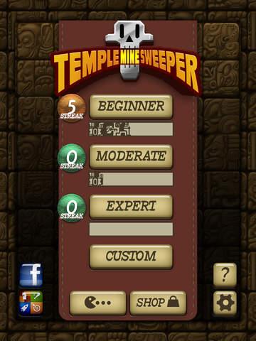 Temple Minesweeper - El Dorado Adventure with Mine Sweeper Gameplay screenshot #5