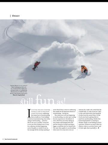 New Zealand Snowboarder screenshot 10