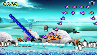 Frozen Stylish Penguin screenshot 1