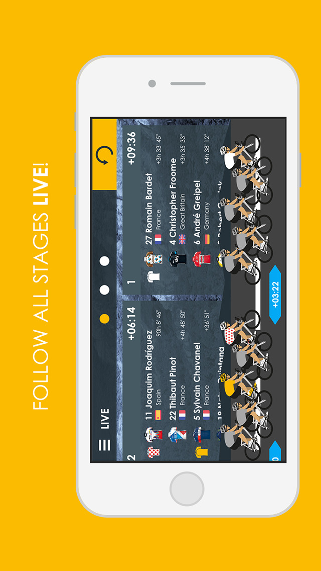 Cycling App - 2016 Live edition Free screenshot 5