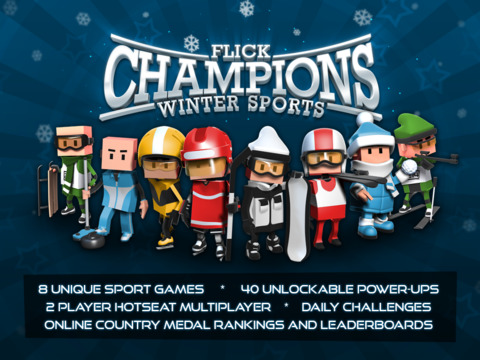 Flick Champions Winter Sports screenshot #1
