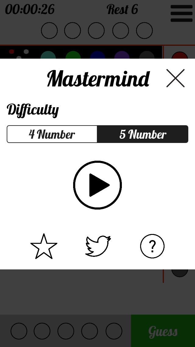 Mastermind™ screenshot 3