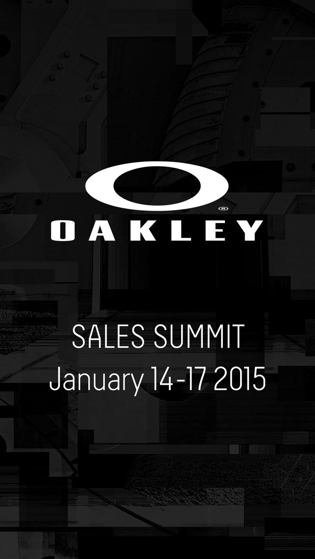 Oakley Sales Summit screenshot 2