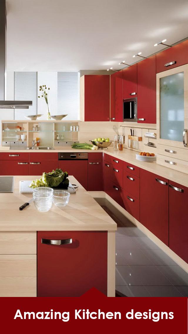 Kitchen Design Ideas - 3D Kitchen Interior Designs screenshot 2