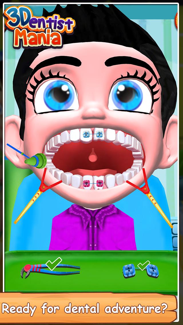 Dentist Mania 3D screenshot 1