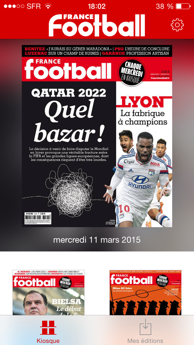 France Football - Le magazine screenshot 1