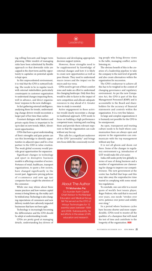 CFO Magazine screenshot 5