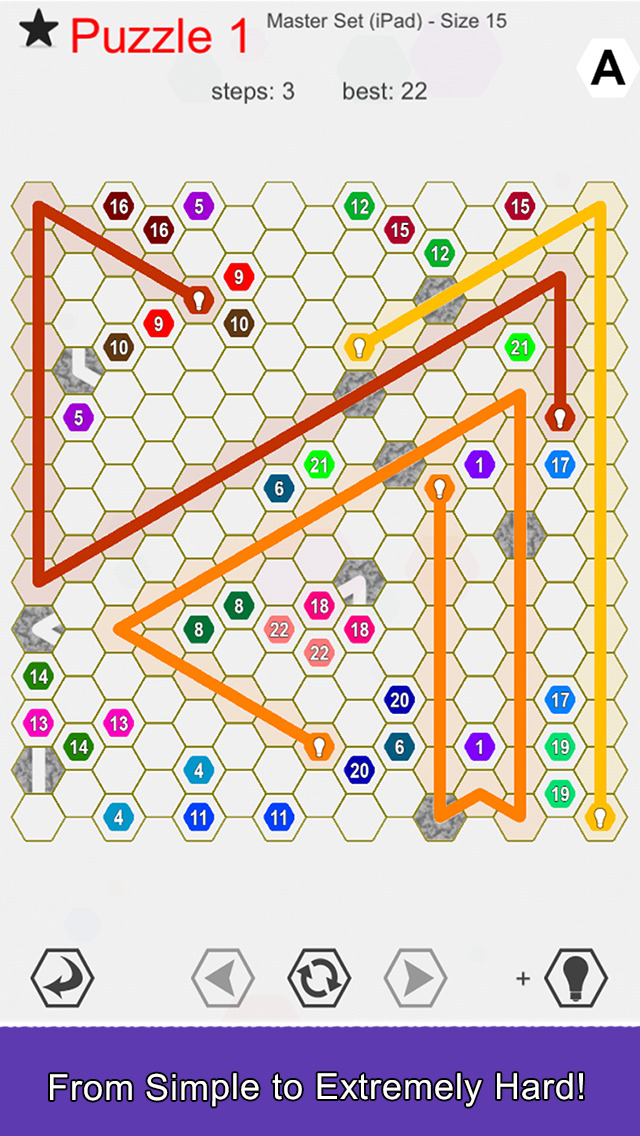 Hexic Link: Bend screenshot 2