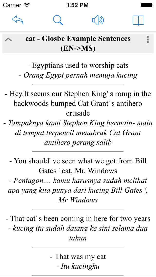 Malay English Dictionary Box Wordbook Translator Bahasa Melayu Bahasa Inggeris Kamus Apps 148apps