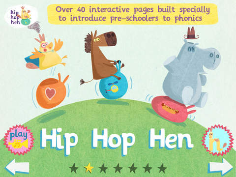 hip hop hen: abc flashcard songs screenshot #1