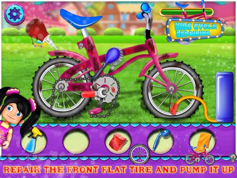 Kids Cycle Repairing screenshot 5