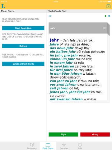 Słownik Premium polsko <-> niemiecki screenshot 8