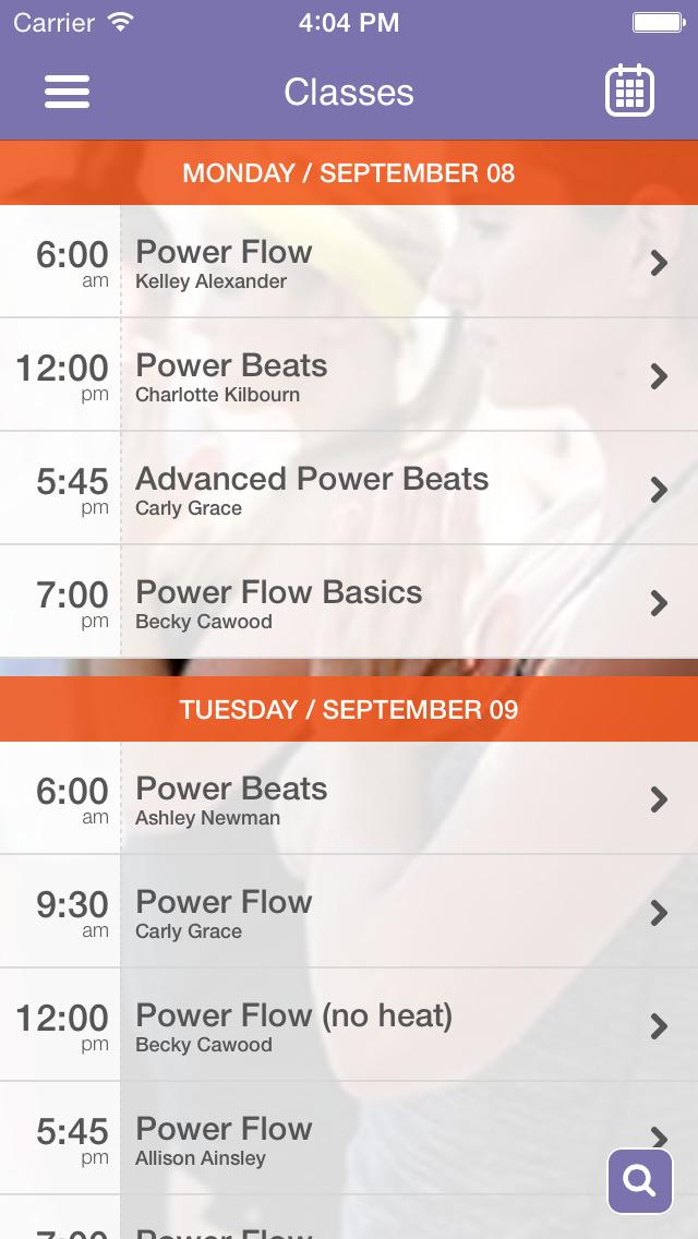 Thunderbolt Power Yoga screenshot #2