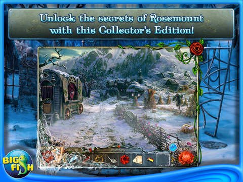 Living Legends: Ice Rose HD - A Hidden Object Game with Hidden Objects screenshot #4